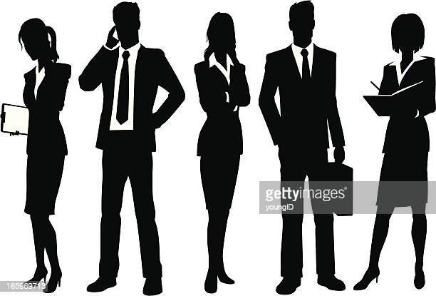 ビジネスの人々