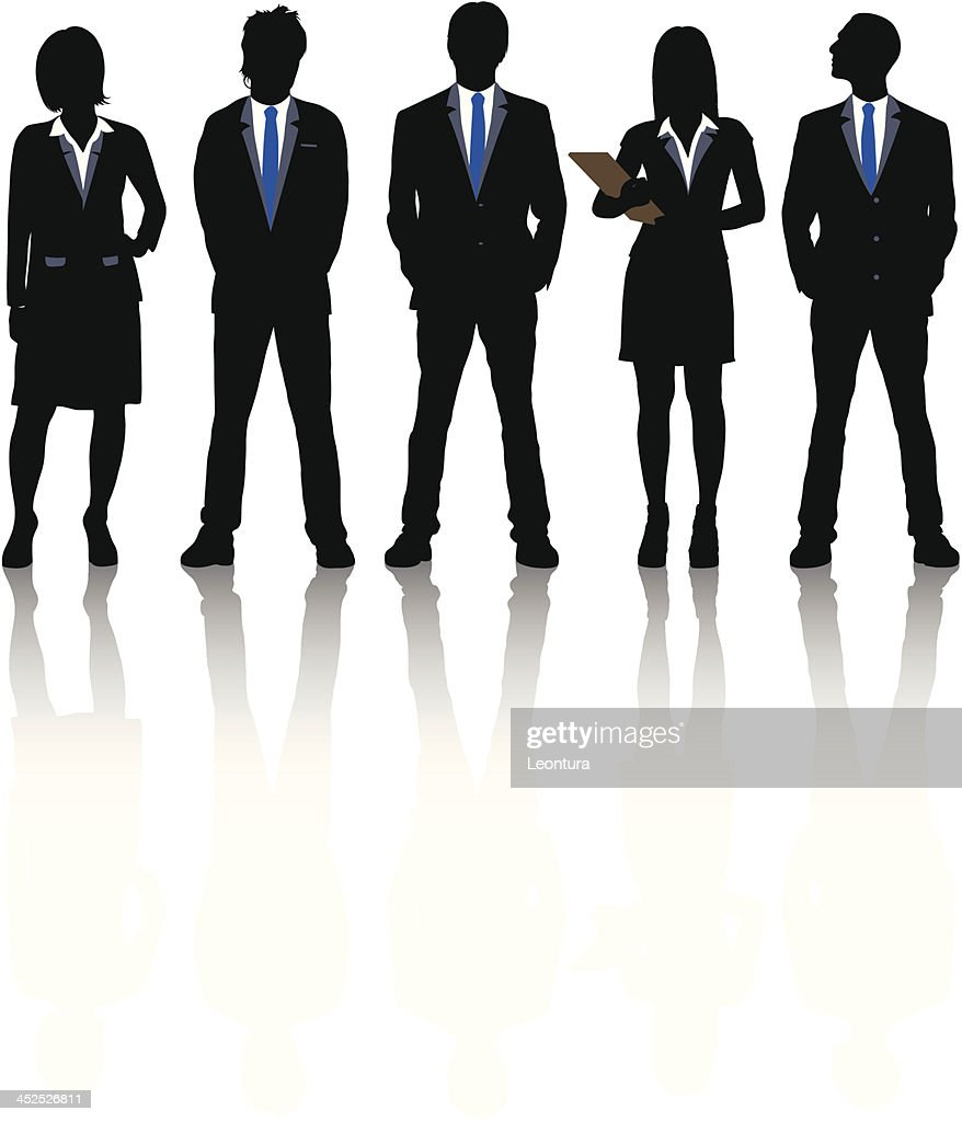 Business People : stock illustration