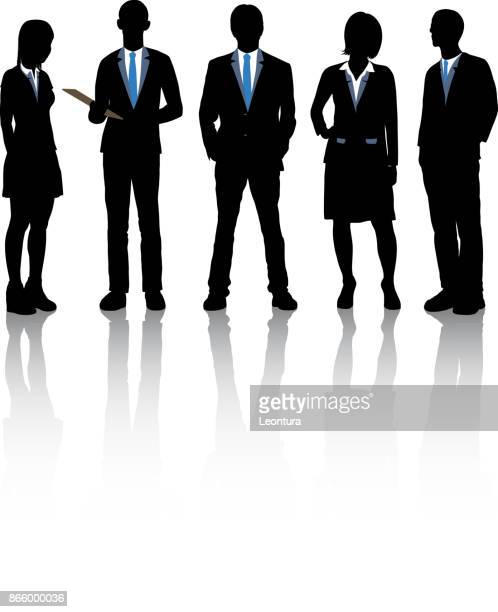 geschäftsleute - full suit stock-grafiken, -clipart, -cartoons und -symbole