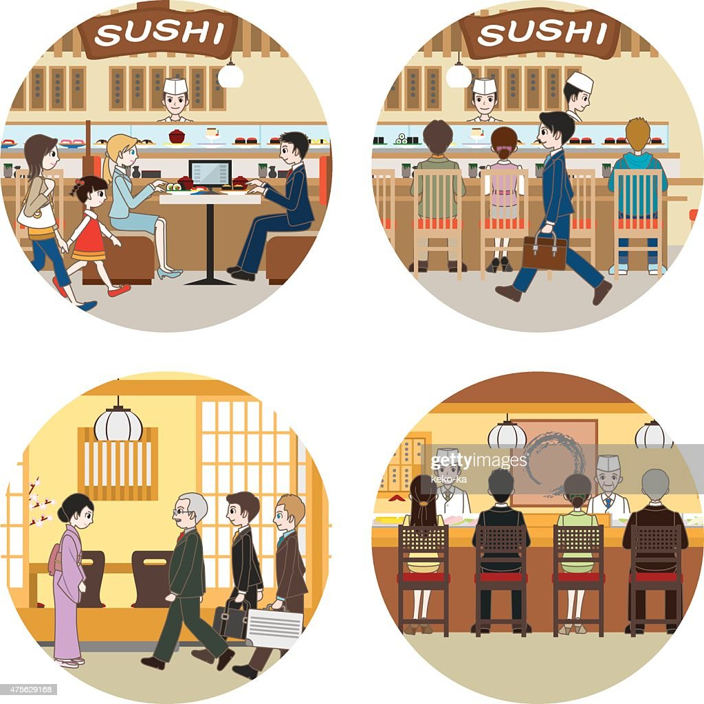 Business / People who enjoy a meal