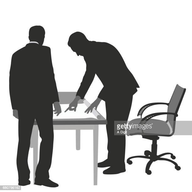 business plan instructions - bending over stock illustrations, clip art, cartoons, & icons