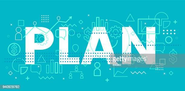 business plan - business plan stock illustrations