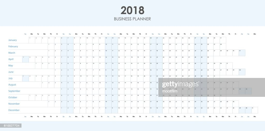 Business planner 2018