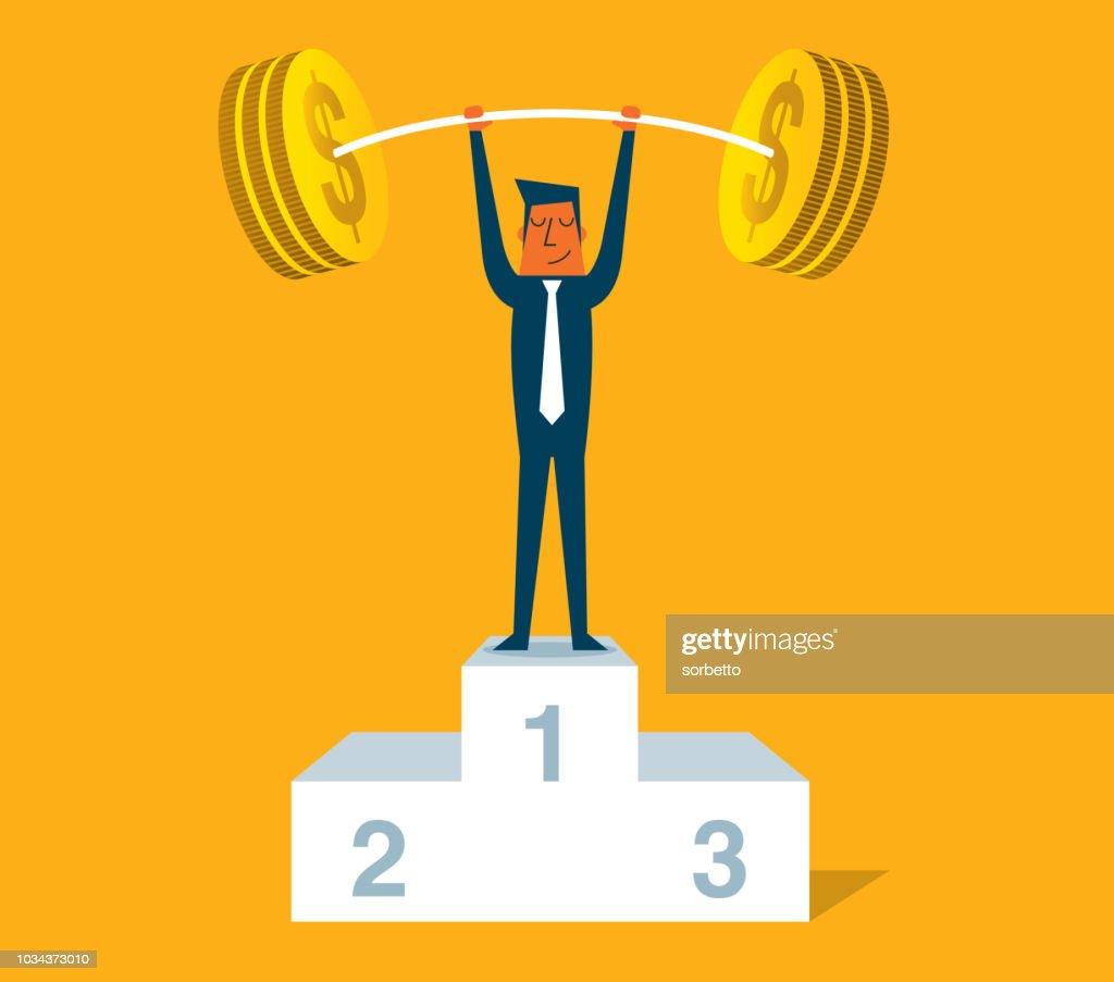 Business Power Strength : stock illustration