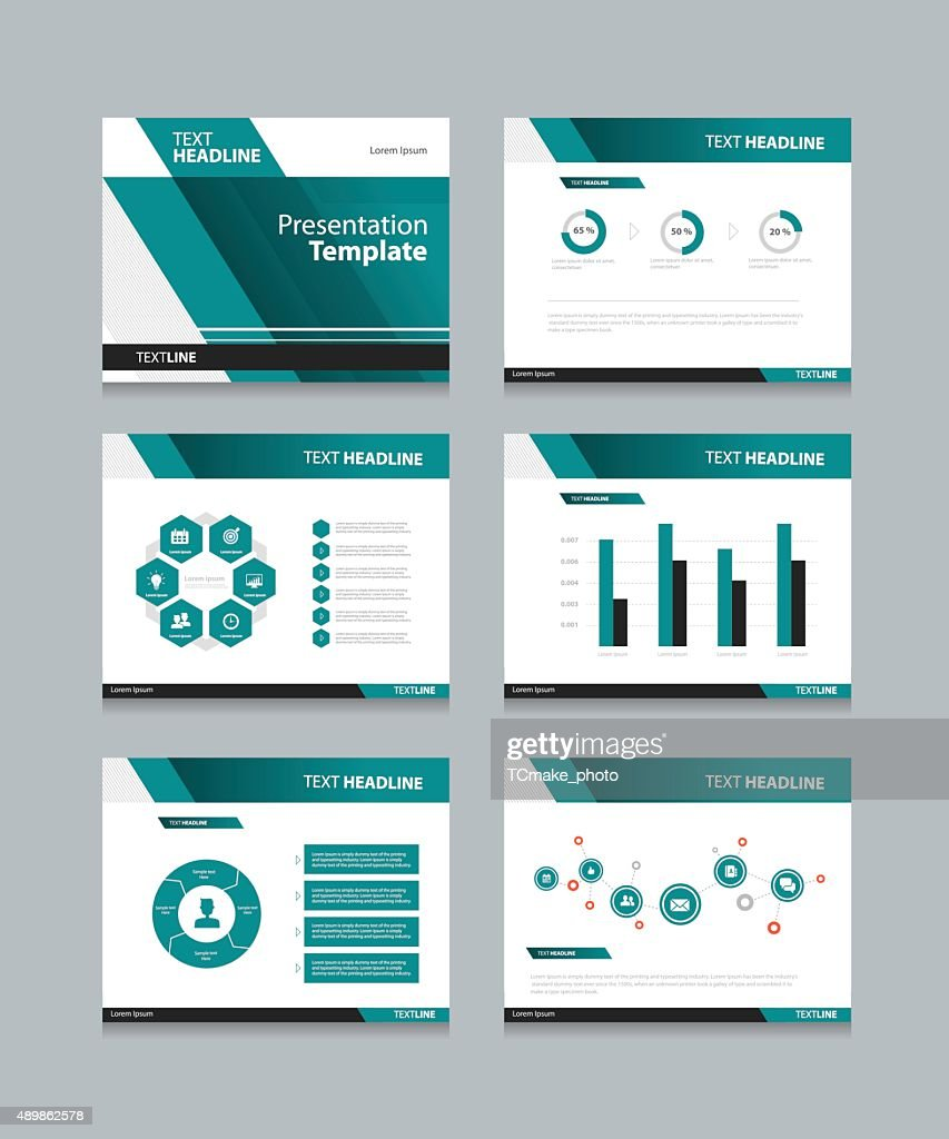 business presentation and powerpoint template slides background design