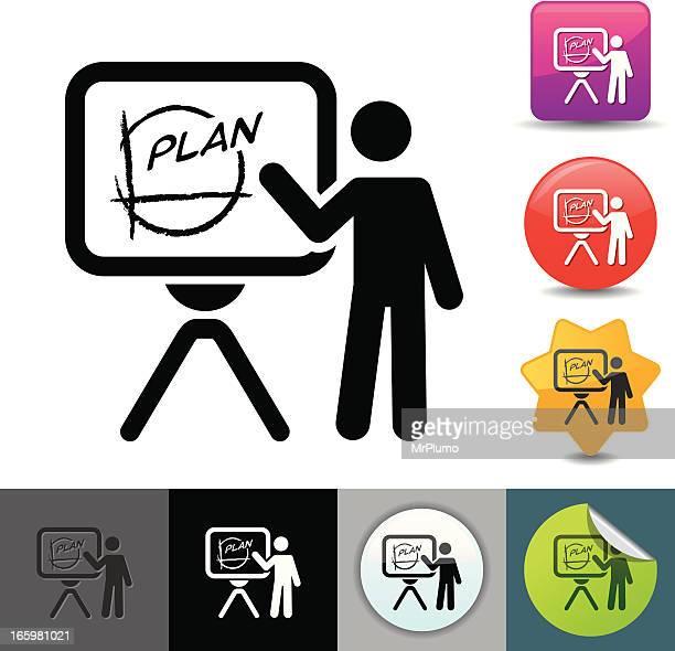Business presentation icon | solicosi series