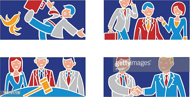 Business related illustrations