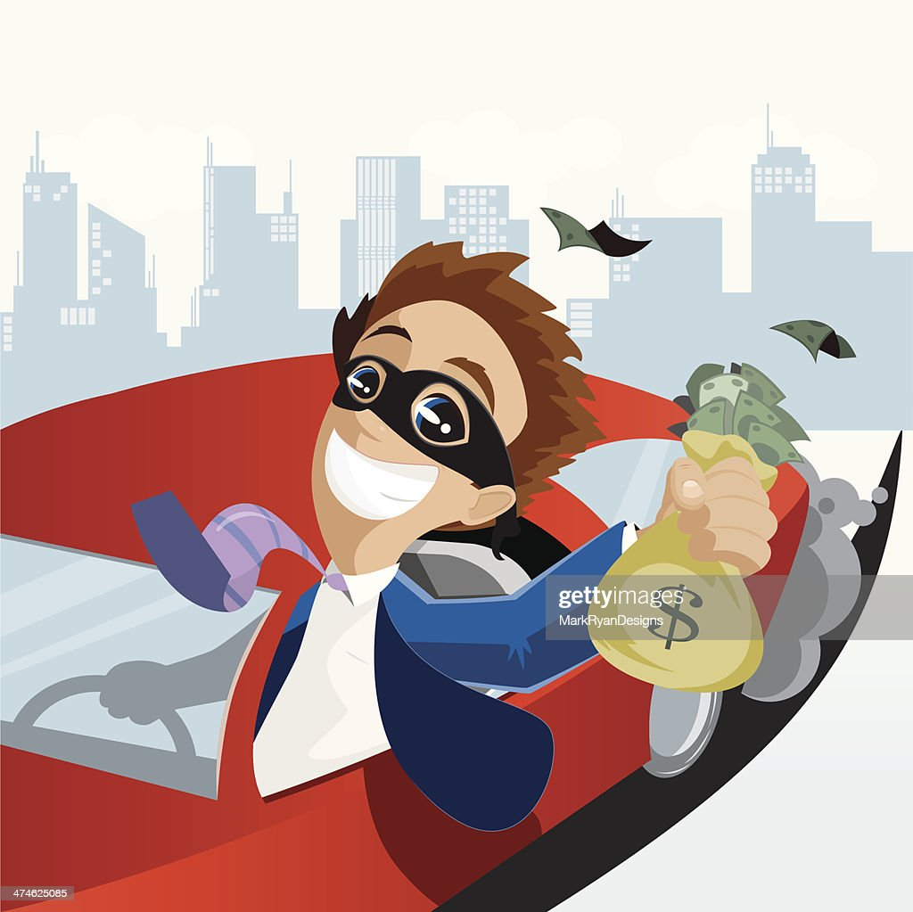 Business Robbery : stock illustration