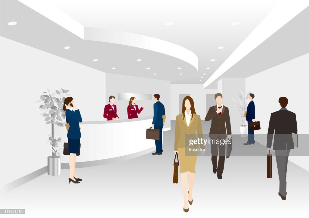Business scene