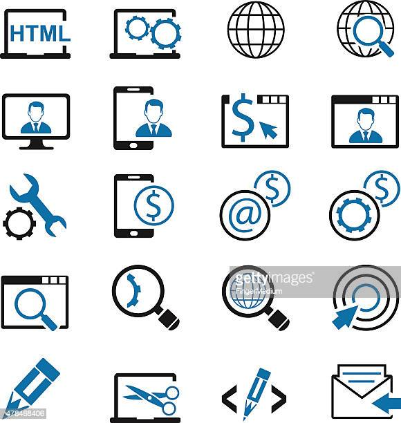 business set - video editing stock illustrations, clip art, cartoons, & icons