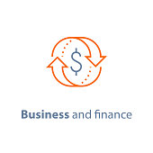 Business solution, finance insurance service, currency exchange, mortgage loan refinance, fund management, return on investment