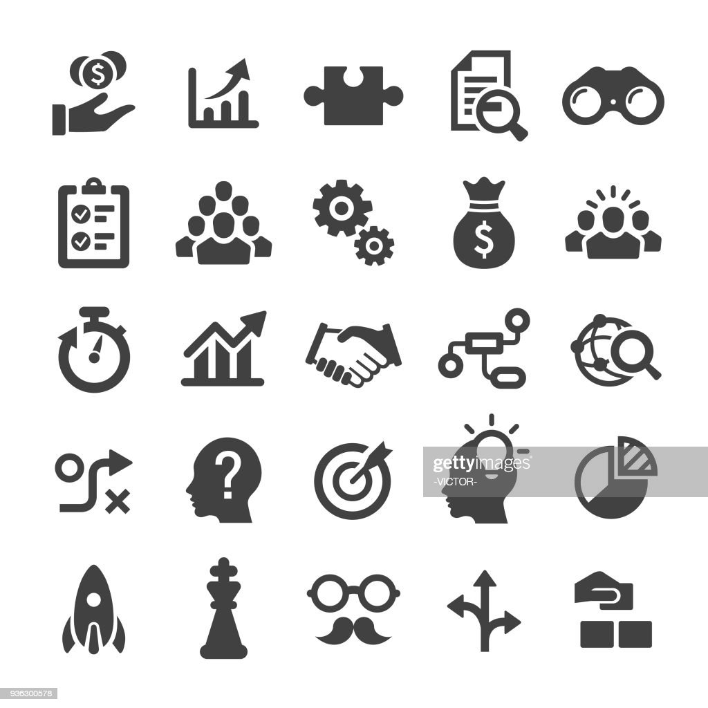 Business Solution Icons - série Smart : Illustration