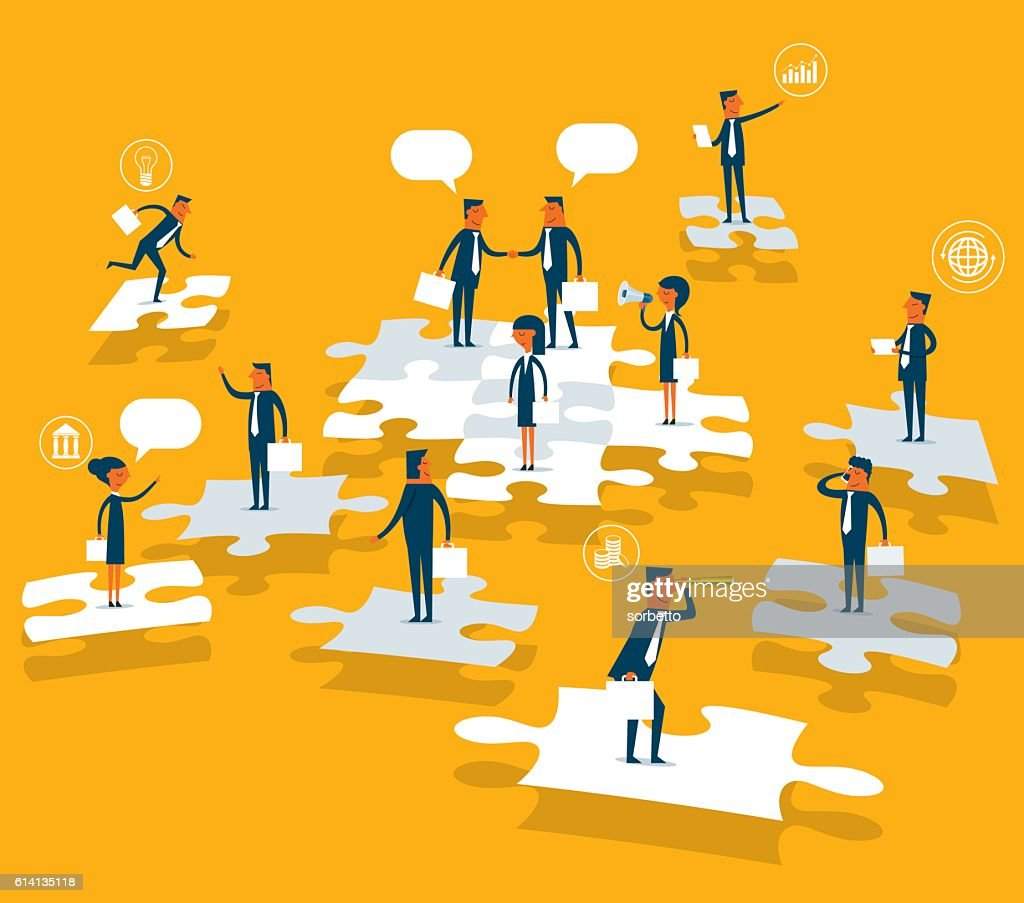 Business Solution : Illustrationer