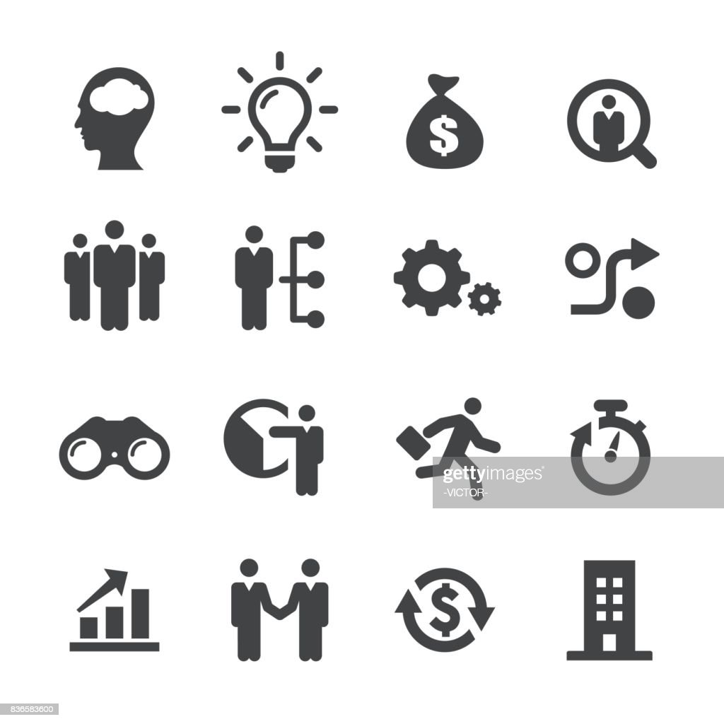 Business Startups Icons - Acme Series