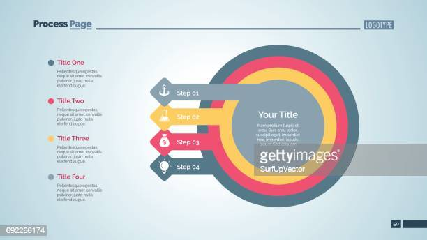 Business Step Diagram Slide Template