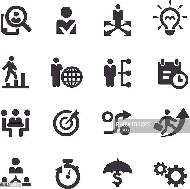 Business Strategy Icons - Acme Series
