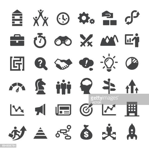 Business Strategy Icons - Big Series