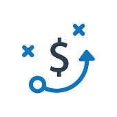 Business Strategy Planning Icon