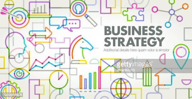 ビジネス戦略 - ウェブ2.0点のイラスト素材/クリップアート素材/マンガ素材/アイコン素材