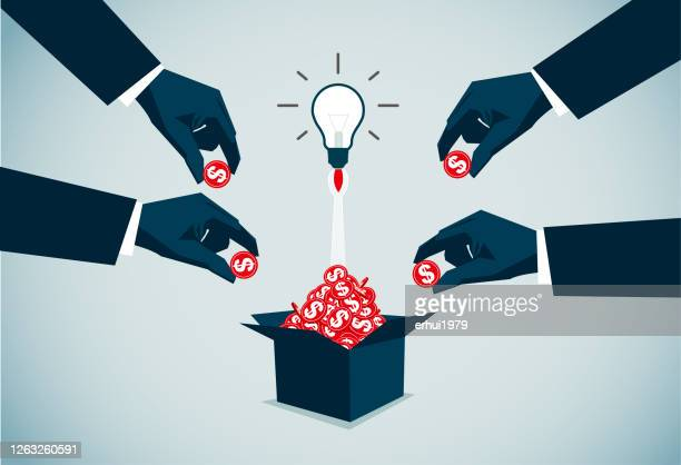 ilustraciones, imágenes clip art, dibujos animados e iconos de stock de estrategia de negocio - patrocinador