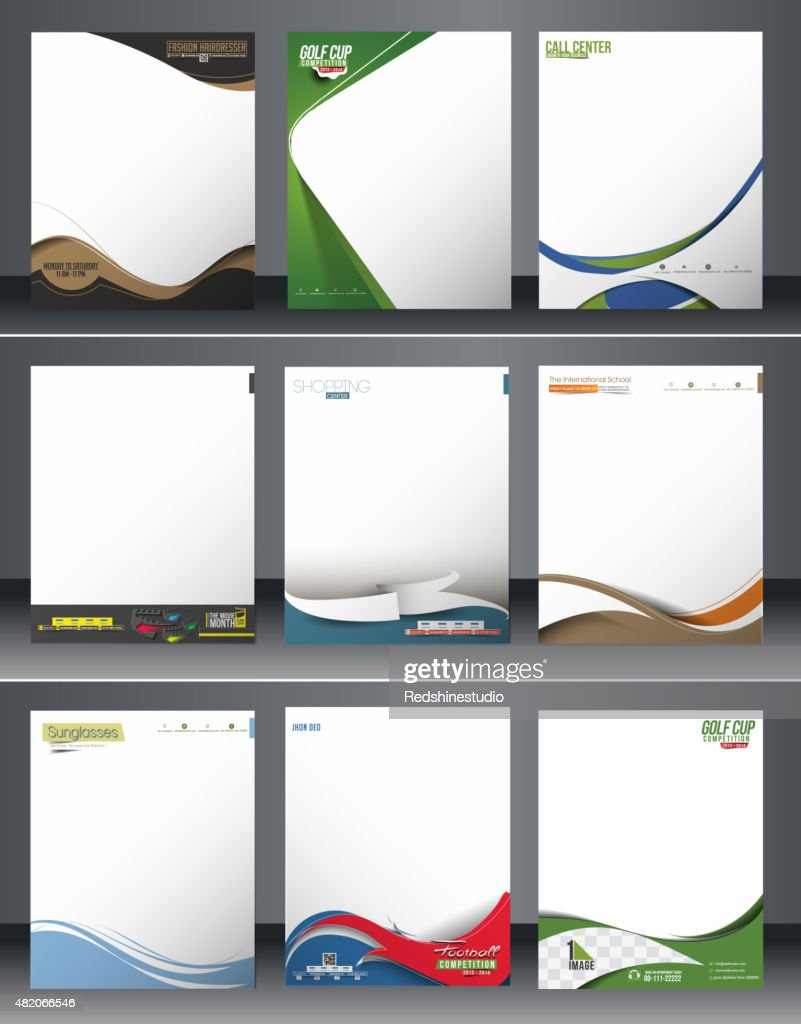 Business Style Corporate Identity Leterhead