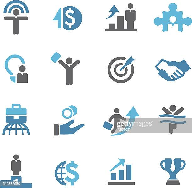 Business-Erfolg-Icons-Concierge Serie