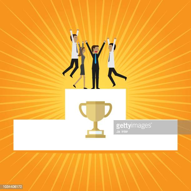 Business success & Trophy
