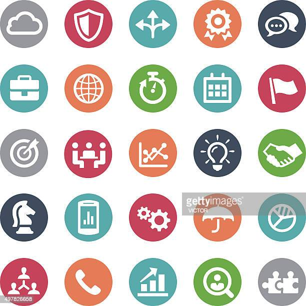 Business Team Icons - Bijou Series
