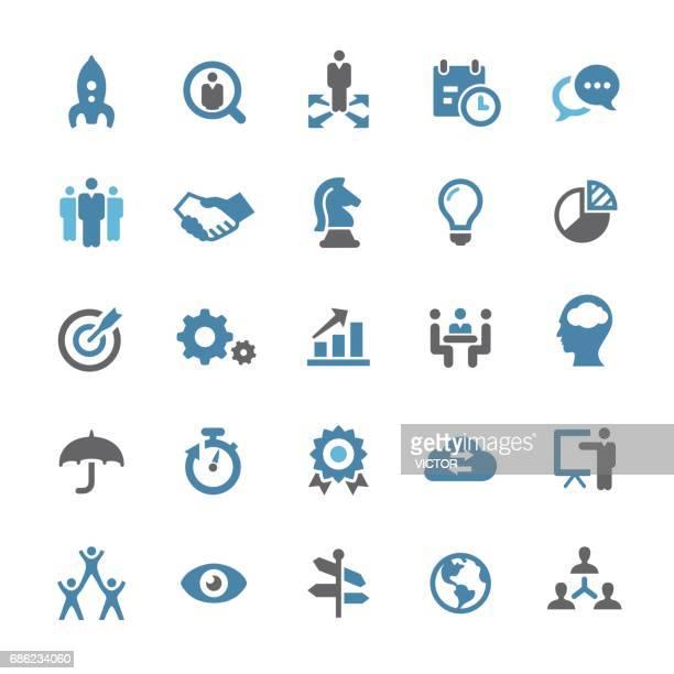 Business Team Icons - Qual Series