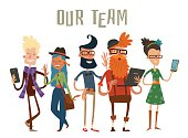 Business team people group portrait website profile about page