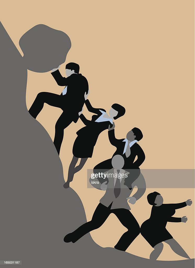 Business team : stock illustration