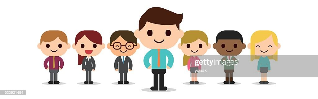 Business team : stock illustration