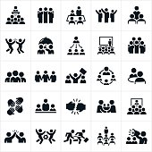 Business Teams Icons