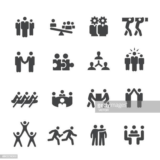 Business Teamwork Icon - Acme Series