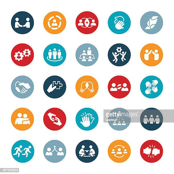 Business Teamwork Icons