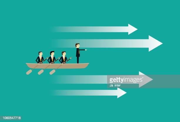 business teamwork - foreman stock illustrations, clip art, cartoons, & icons