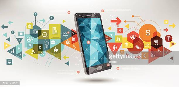 business-technologie - origami stock-grafiken, -clipart, -cartoons und -symbole