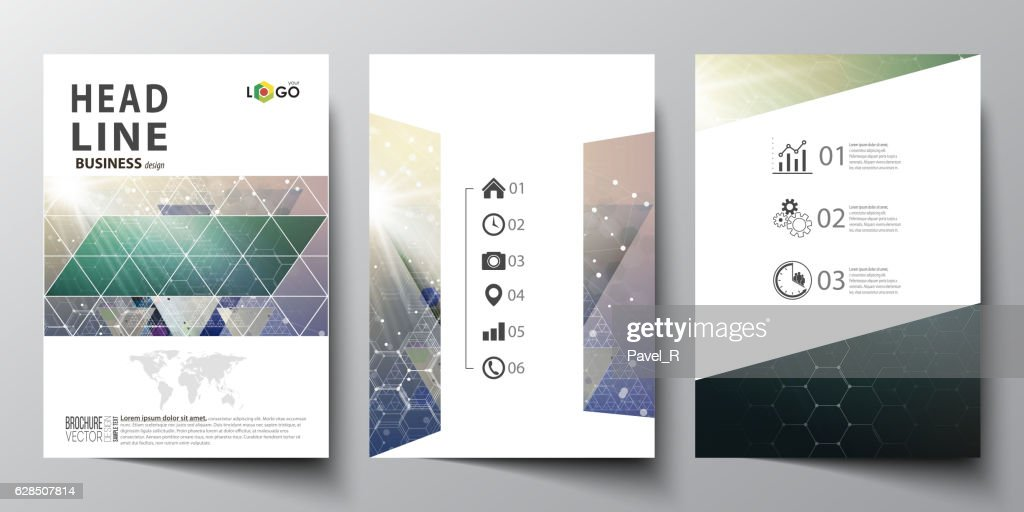 Business templates for brochure, magazine, flyer, booklet, report. Cover design
