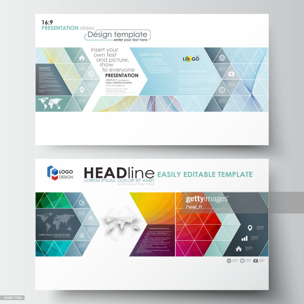 Business templates in HD format for presentation slides. Easy editable