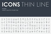 business Thin Line Icons