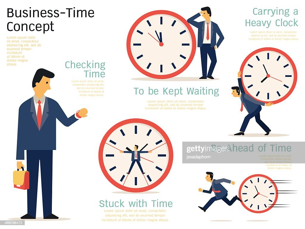 Business time concept