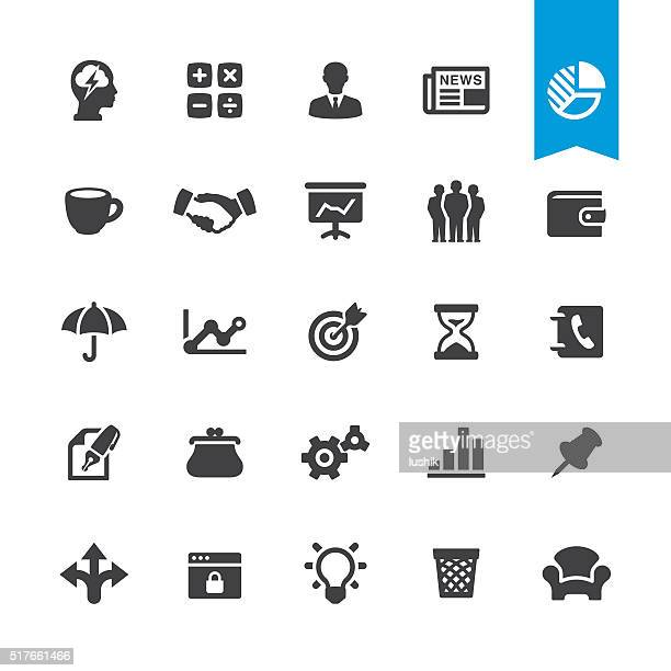 Business tools vector sign and icon