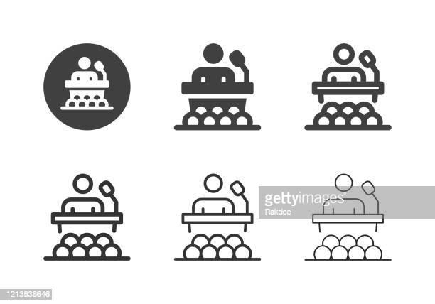 ビジネストレーニングアイコン - マルチシリーズ - セントラル・ロンドン点のイラスト素材/クリップアート素材/マンガ素材/アイコン素材