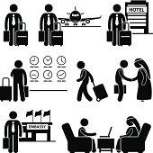 Business Trip Businessman Travel