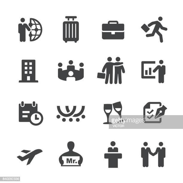 Business Trip Icons - Acme Series