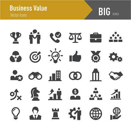 Business Value Icons - Big Series - gettyimageskorea