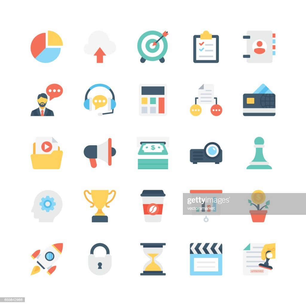 Business Vector Icons 1
