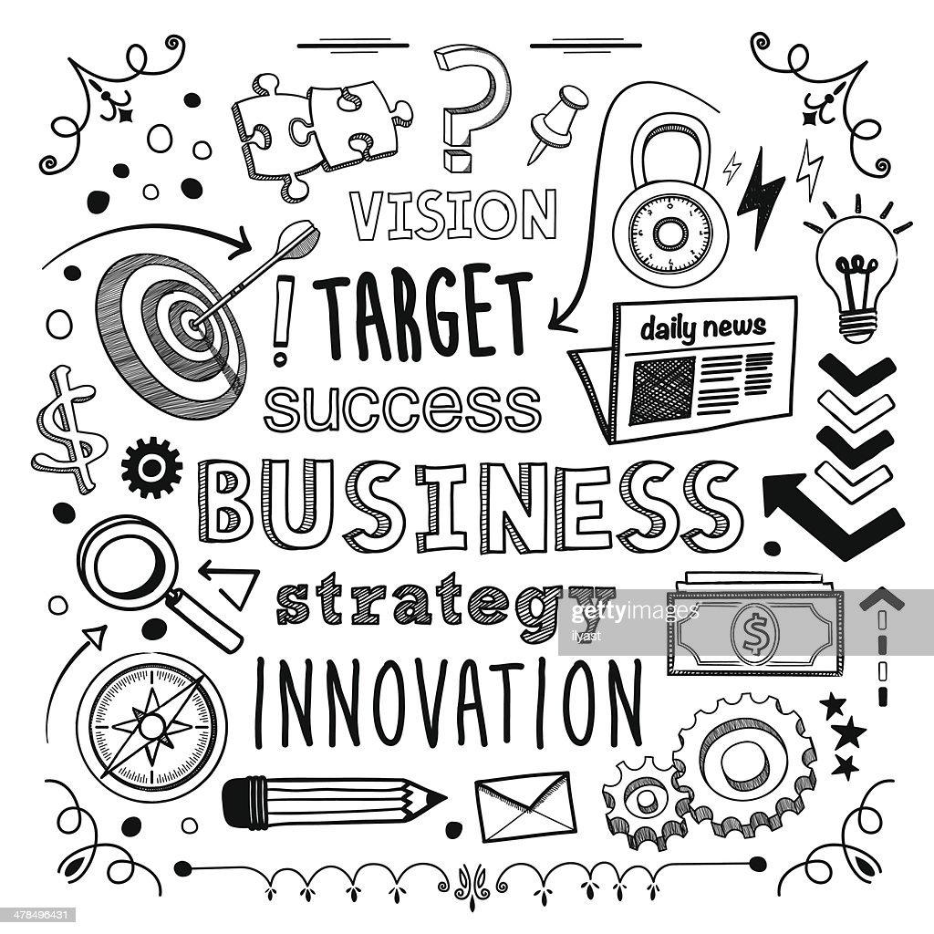 De negócios : Ilustração