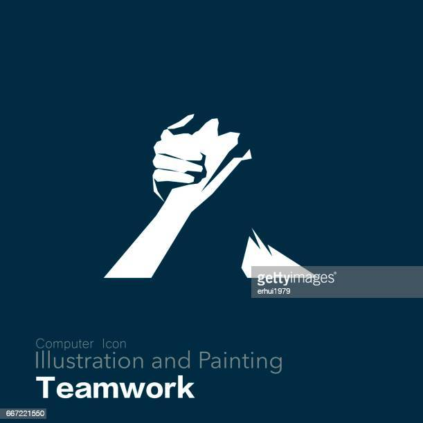business - togetherness stock illustrations