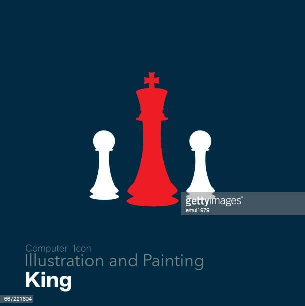 ビジネスの - チェス点のイラスト素材/クリップアート素材/マンガ素材/アイコン素材
